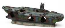 Small Sunken Aircraft Carrier (19.5 x 8 x 10.5 cm)