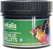 Vitalis Central/South American Cichlid X Small Pellets (60g)