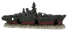 Sunken Battleship (48 x 10 x 19 cm)