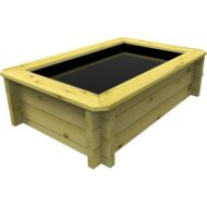 The Garden Timber Company 1.5m x 1m Wooden Fish Pond