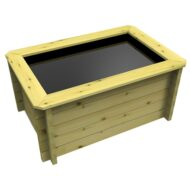 The Garden Timber Company 1.5m x 1m Wooden Fish Pond (44mm plank, 69cm high)