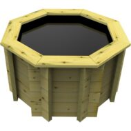 The Garden Timber Company 4ft Octagonal Wooden Fish Pond (44mm plank, 80cm high)