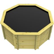 The Garden Timber Company 8ft Octagonal Wooden Fish Pond (44mm plank, 107cm high)