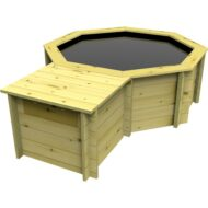 The Garden Timber Company Wooden Pond Filtration Enclosure