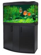 Fluval Vicenza 180 Gloss Black LED Aquarium Kit