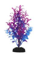 AquaManta Plastic Plant - Blue Ludwigia/BlueHygrohila (20cm)