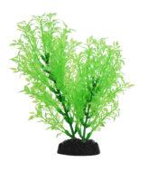 AquaManta Plastic Plant - Green Selgainella (20cm)