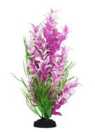 AquaManta Plastic Plant -Purple Ludwigia/Green Blyxa (30cm)