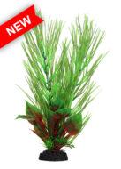 AquaManta Plastic Plant - Green Hippuris/Red Nesaea (30cm)