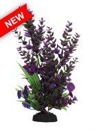 AquaManta Plastic Plant - Purple Hygropilia/Purple Villarsia (30cm)