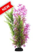 AquaManta Plastic Plant - Wisteria/Pink Hygrophilia (40cm)