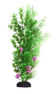 AquaManta Plastic Plant - Wisteria/Bacopa & Purple Villarsia (40cm)