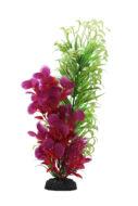 AquaManta Plastic Plant - Narrow Ludwigia/Red Ludwigia (40cm)