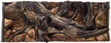 "Seashell ""Amazon"" Aquarium Background - 98 x 45.5cm"