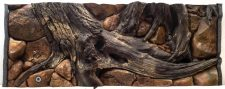 "Seashell ""Amazon"" Aquarium Background - 150 x 56.5cm"