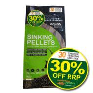 Aqua Nutrition Premium Sinking Pellets (1kg)