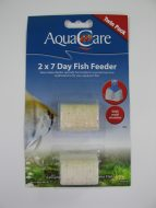 AquaCare Holiday Block - 2 x 7 Day Fish Feeder