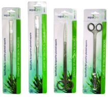 TMC AquaGro Curved Tip Precision Scissors