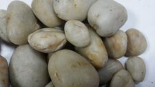 Aqua Range 'Aqua-Substrate' Polished Pebbles - White