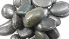 Aqua Range 'Aqua-Substrate' Polished Pebbles - Black