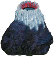 Superfish 'Cotopaxi' Snow Capped Volcano (19 x 18 x 15 cm)
