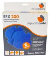 AquaManta EFX 200 Coarse Sponge Filter Pad (2 Pack)