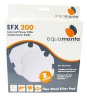 AquaManta EFX 200 Fine Wool Filter Pad (2 Pack)