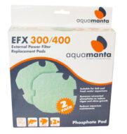 AquaManta EFX 300 & 400 Phosphate Pad (2 Pack)