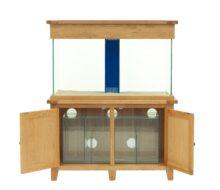 Aqua Oak 120cm x 60cm Systemised Aquarium and Cabinet (AQ120S)