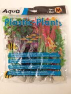 Aqua Range Plastic Plants- Medium (20cms - pack of 6)