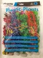 Aqua Range Plastic Plants- Large (30cms - pack of 6)