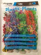 Aqua Range Plastic Plants- Large (30cms - pack of 6)