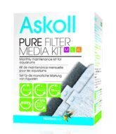 Askoll 'PURE' Media Kit For Medium, Large & Extra Large Aquariums