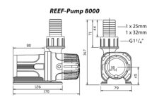 Reef Pump 8000 Dims Diagram 1479817341