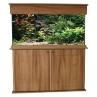 "SeaShell 'Elite' 60"" x 18"" x 24"" Aquarium, Hood & Cabinet"
