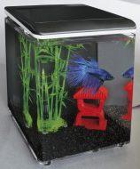 Superfish 'Home 8' Aquarium Black