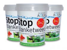 'Stop Blanketweed' Special offer: three 250g tubs for the price of two!