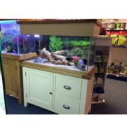 Aqua Oak '110cm Country Cream' *Limited Edition* Aquarium & Cabinet