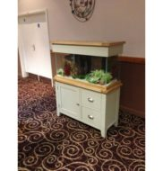 Aqua Oak '110cm Country Green' *Limited Edition* Aquarium & Cabinet (AQ110DDCG)