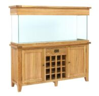 Aqua Oak 160cm 'Wine Rack' Aquarium and Cabinet (AQ160WR)