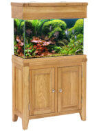 Aqua Oak 76cm 'Two Doors' Aquarium and Cabinet (AQ76D)
