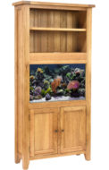 Aqua Oak 'Book Case' Aquarium and Cabinet (AQ96B)