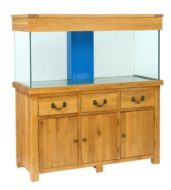 Aqua Oak '150cm Plank' Systemised Aquarium and Cabinet (AQ150PS)