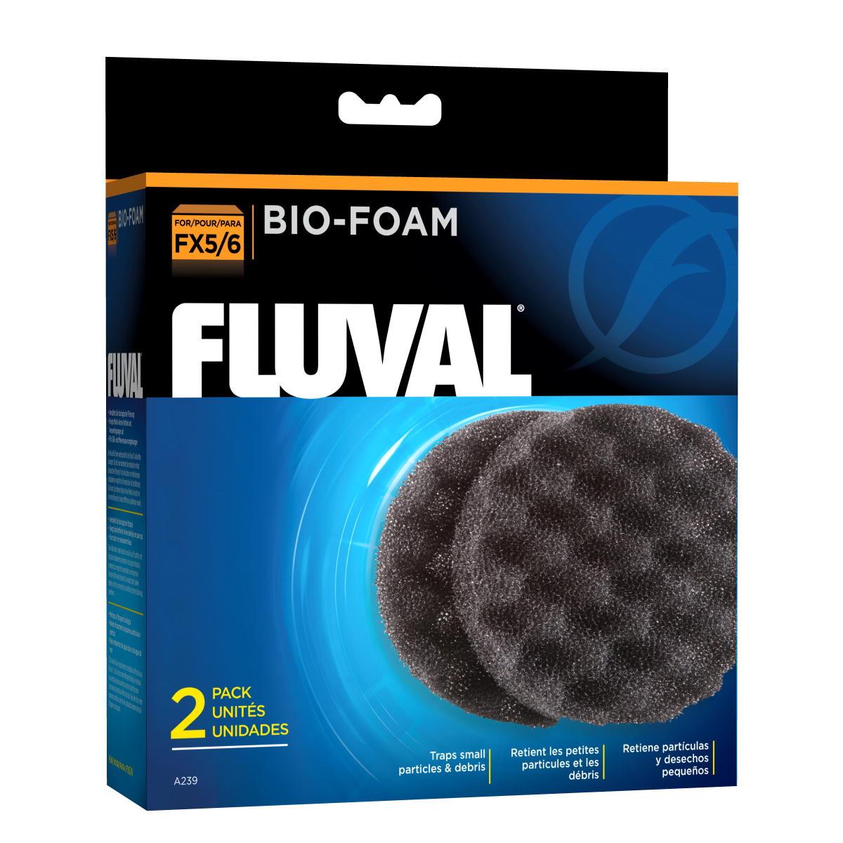 Fluval A239 Fx5 6 Filter Media Biofoam 2Pack