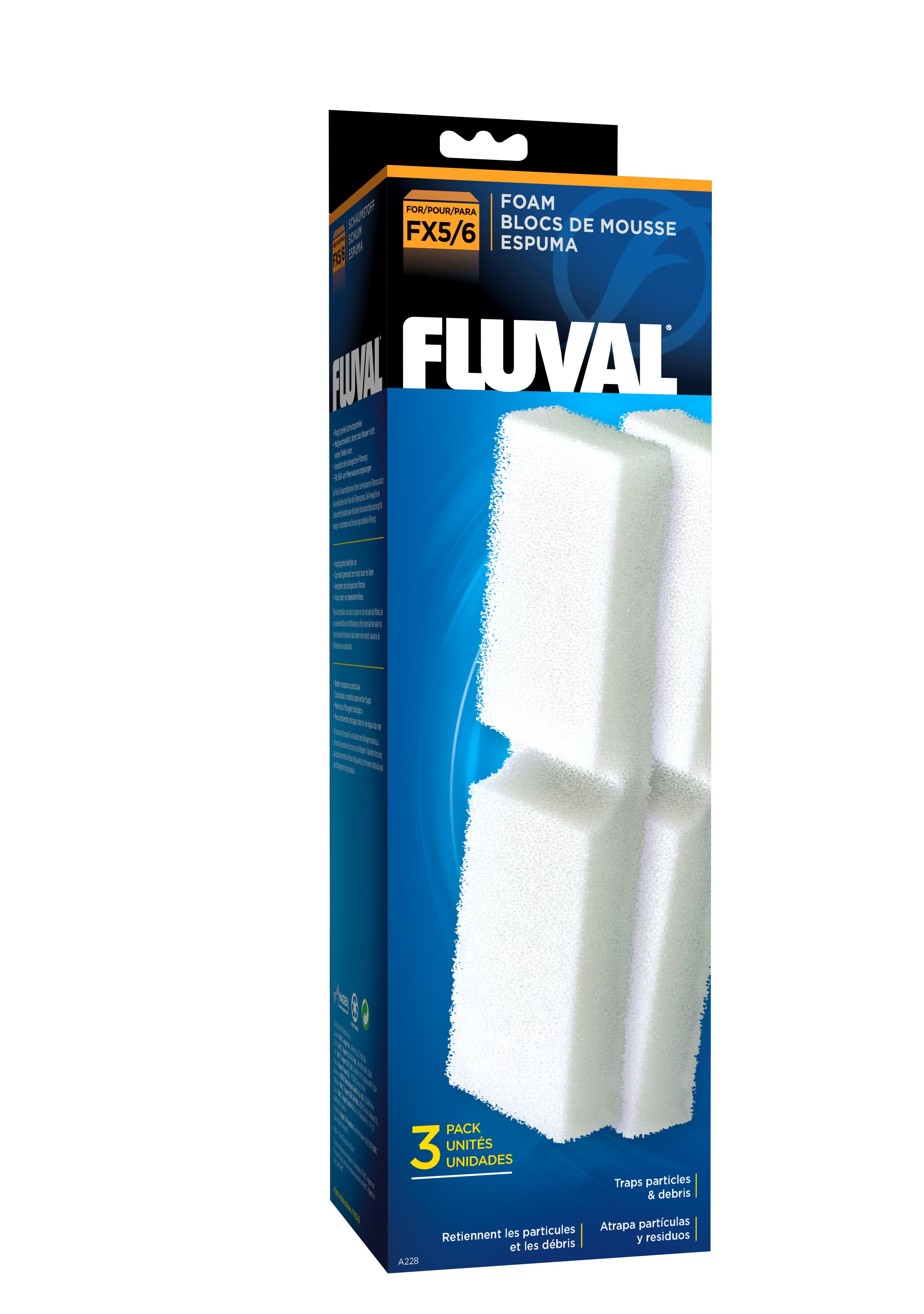 fluval-fx5fx6-filter-foam-3pcs