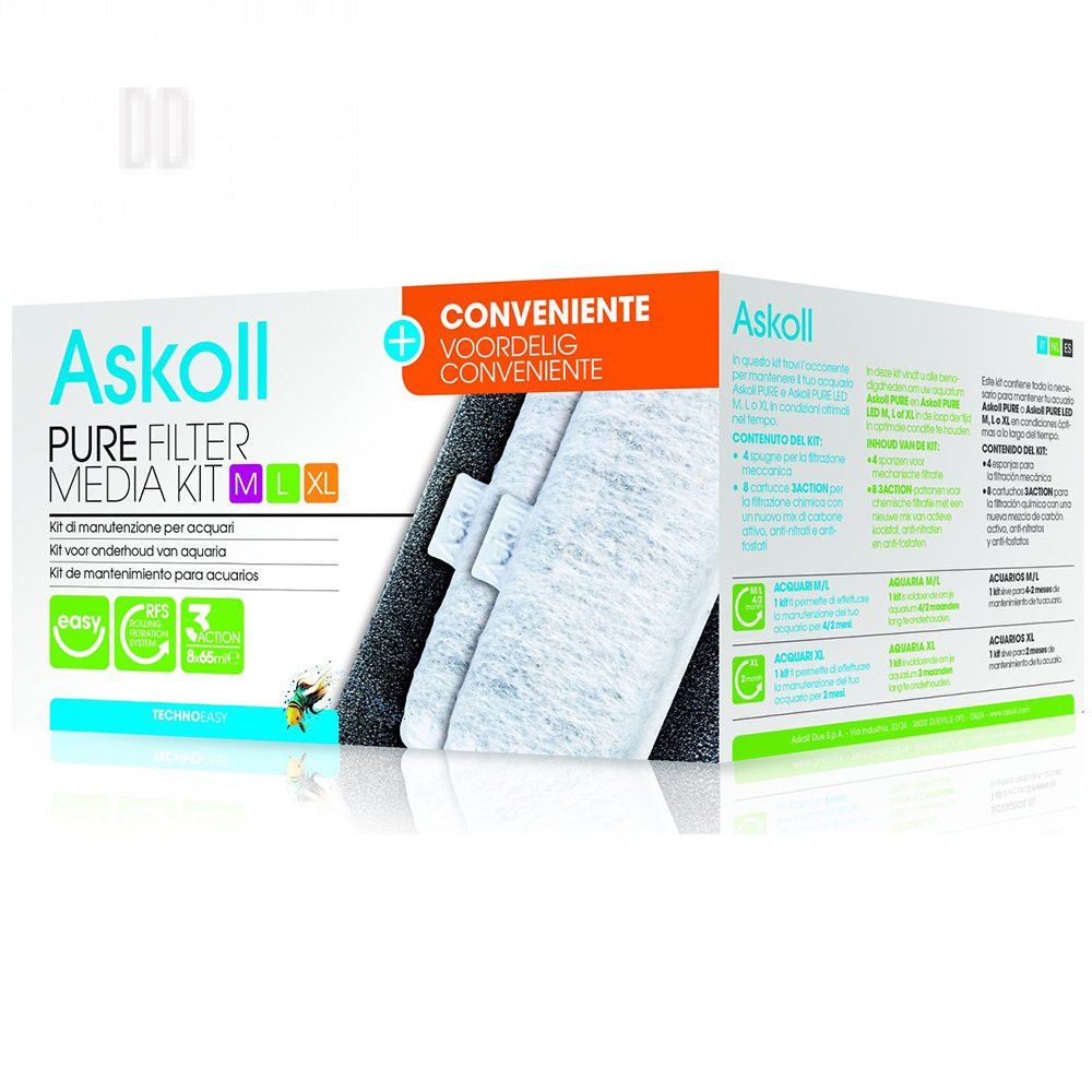 Askoll Media Kit M/L/XL Multipack 3+1