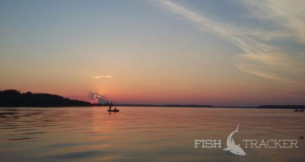 Рыбалка на Иваньковском водохранилище, поиск новых мест.