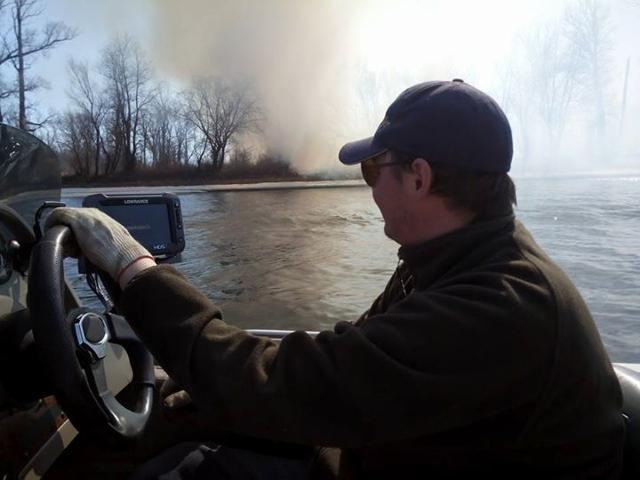 Рыболовный отчет Константин Кудинов Спустил катер. Открыл водно-моторный сезон
