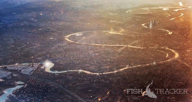 Из опыта ловли голавля на «жука» на Москва-реке.