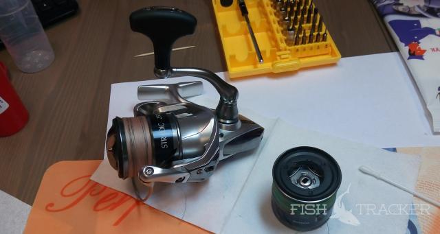 Техническое обслуживание катушки Shimano Stradic 15 C3000